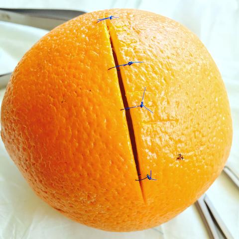 Normal malin apelsin