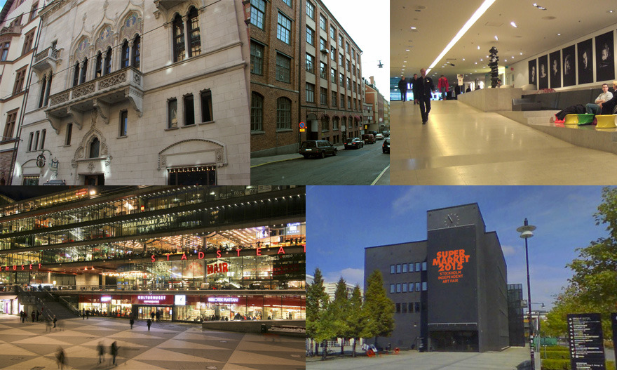 Large supermarket venues